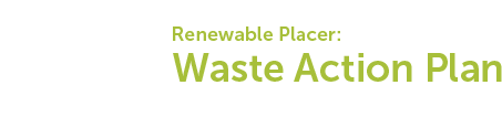 Western Placer Waste Management Authority Master Plan